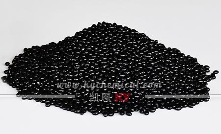 8818低压注塑热熔胶实物图片(黑色)
