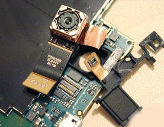Underfill膠水應用在手機攝像頭芯片填充