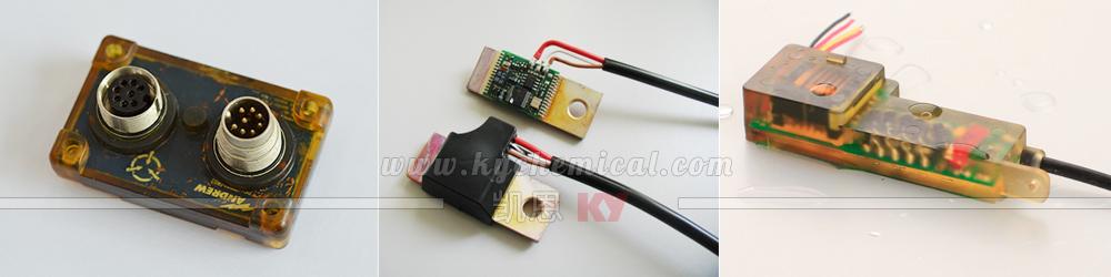 低压注塑热熔胶应用在PCB板封装