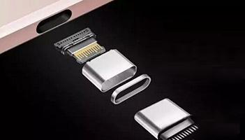 USB Type-c接口结构示意图