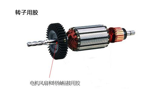 电机风扇和转轴粘接用胶