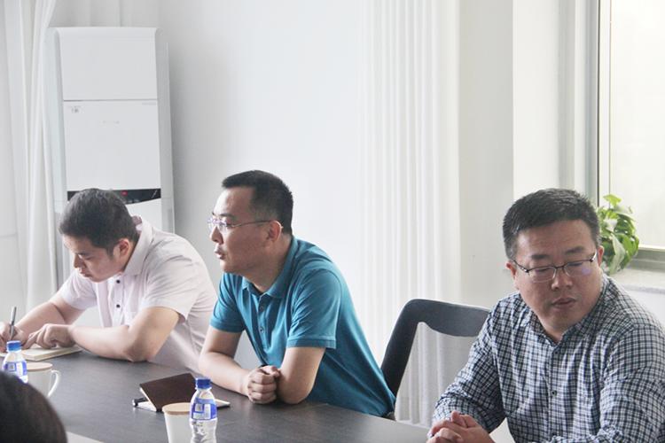 烟台福山区投资促进局领导莅临山东凯恩新材料参观访问2