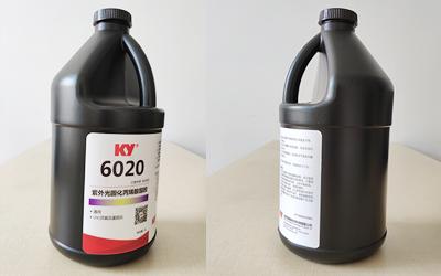 6020双重固化UV胶实物图片