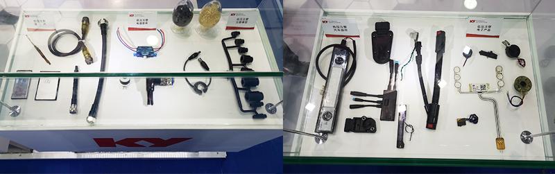 低压注塑材料及样件展示柜