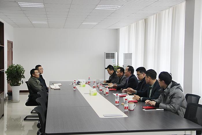 烟台福山区领导莅临我司指导项目建设工作