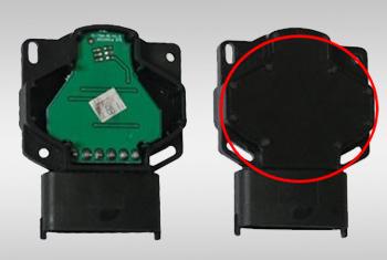 电子油门传感器低温低压注塑