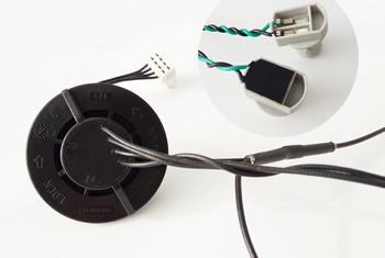 车灯线束低压注塑成型