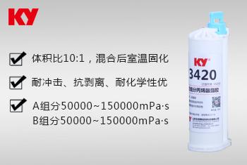 3420双组分丙烯酸酯胶